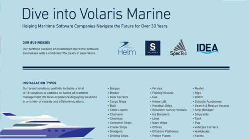 Dive Into Volaris Marine